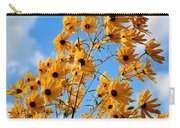 Blowin In The Wind Carry-all Pouch by Kristin Elmquist