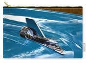 Blue 57 Chevy Bel Air Carry-all Pouch
