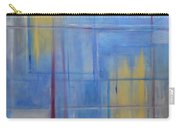 Blue Abstract Carry-all Pouch