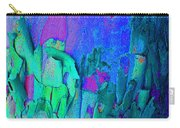 Blue Abstract Trunk Carry-all Pouch