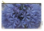 Blue Agapanthus Carry-all Pouch