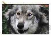 Blue And Brown Eyed Husky Carry-all Pouch