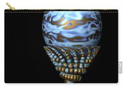 Blue And Golden Egg Carry-all Pouch