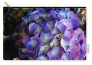 Blue And Purple Hydrangeas Carry-all Pouch