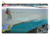 Blue And White Bel Air Convertable Carry-all Pouch