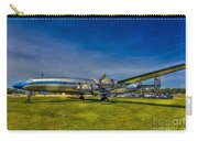 Blue And Yellow Connie Carry-all Pouch by Marvin Spates