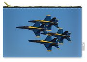Blue Angel Diamond Carry-all Pouch