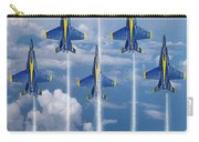 Blue Angels Carry-all Pouch by J Biggadike