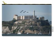 Blue Angels Over Alcatraz Carry-all Pouch