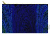 Blue Archways Carry-all Pouch