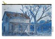 Blue Landscape Carry-all Pouch