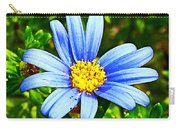 Blue Aster In Park Sierra Near Coarsegold-california   Carry-all Pouch