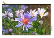 Blue Asters 3 Carry-all Pouch