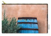 Blue Barrel With Adobe Carry-all Pouch