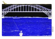 Blue Bay Bridge Carry-all Pouch