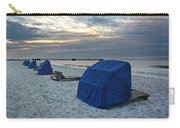 Blue Beach Chairs Carry-all Pouch