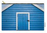 Blue Beach Hut Carry-all Pouch