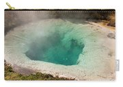 Blue Bell Pool In West Thumb Geyser Basin In Yellowstone National Park Carry-all Pouch
