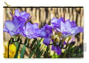 Blue Bell Flowers, Corona Del Mar California Carry-all Pouch