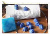 Blue Berries Mini Soaps Carry-all Pouch