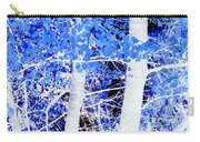 Blue Birch Trees Carry-all Pouch