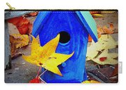 Blue Bird House Carry-all Pouch