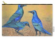 Blue Birds Of Happiness Carry-all Pouch