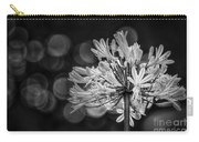 Blue Blooms B/w Carry-all Pouch