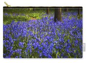 Blue Blue Bells Carry-all Pouch