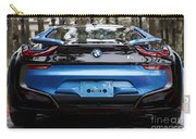 Blue Bmw I8 Carry-all Pouch