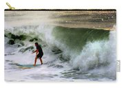 Blue Board Carry-all Pouch by Karen Wiles
