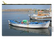 Blue Boat In Sozopol Harbour Carry-all Pouch