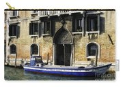 Blue Boat Venice Carry-all Pouch
