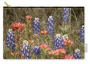 Blue Bonnet Carpet V10 Carry-all Pouch