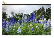 Blue Bonnet Carpet V9 Carry-all Pouch