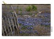 Blue Bonnet Fence V2 Carry-all Pouch