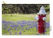 Blue Bonnets Fire Hydrant V2 Carry-all Pouch