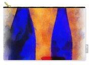 Blue Bottles Photo Art Carry-all Pouch