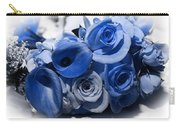 Blue Bouquet Carry-all Pouch