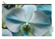 Blue Bow Orchid Carry-all Pouch