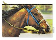 Blue Bridle Carry-all Pouch