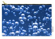 Blue Bubbles Carry-all Pouch