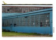 Blue Building In Delaware Ohio Carry-all Pouch