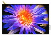Blue Burst Lily Carry-all Pouch
