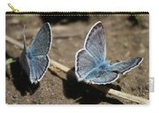 Blue Butterflies Carry-all Pouch