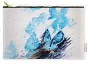 Blue Butterflies Carry-all Pouch