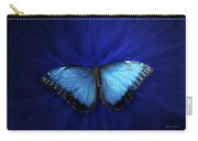 Blue Butterfly Ascending 02 Carry-all Pouch