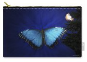 Blue Butterfly Ascending Carry-all Pouch
