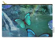 Blue Butterfly Dream Carry-all Pouch