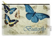 Blue Butterfly - S01a Carry-all Pouch